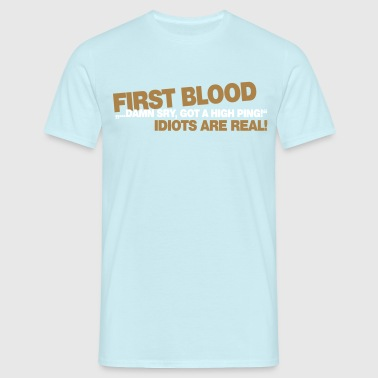 First Blood - High Ping - Männer T-Shirt