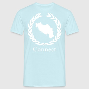 CONNECT Collektion DTML. WHITE EDITION - T-shirt Homme