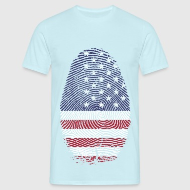 American - T-shirt Homme