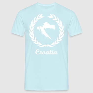 "Se connecter ExYu White Edition ""Croatie"" - T-shirt Homme"