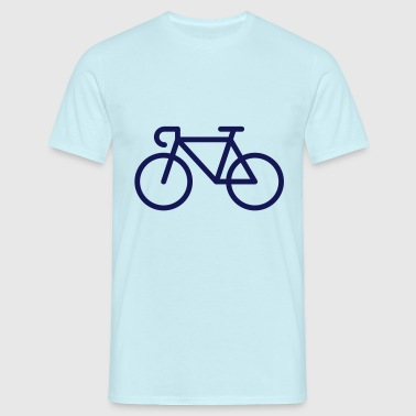 Bicyclette / Vélo De Course (Icone / Pictogramme) - T-shirt Homme