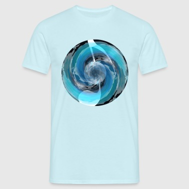 waves and music - T-shirt Homme