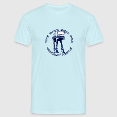AT-AT Fiat ordinary blue  - Herre-T-shirt