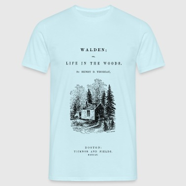 walden book cover - T-shirt Homme