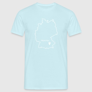 place to be: Munich - Men's T-Shirt