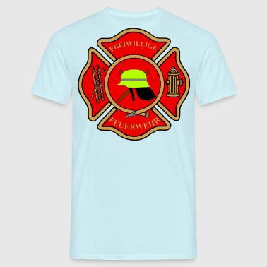 Brandweer patch - Mannen T-shirt