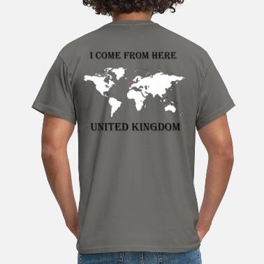 UK-blanc - T-shirt Homme