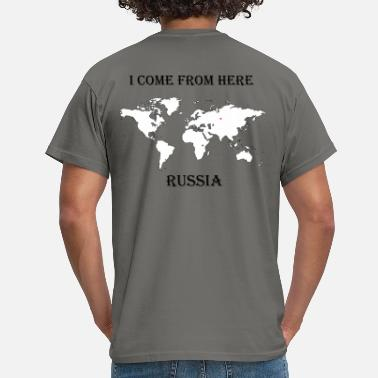 Russia Sports russia-blanc - T-shirt Homme