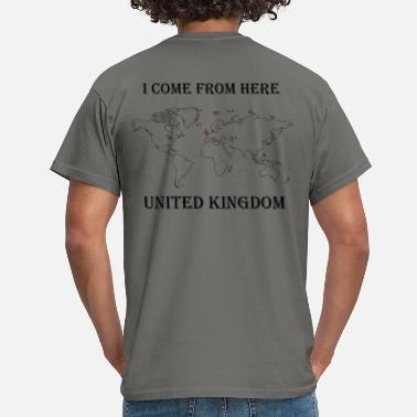 Uk UK - T-shirt Homme