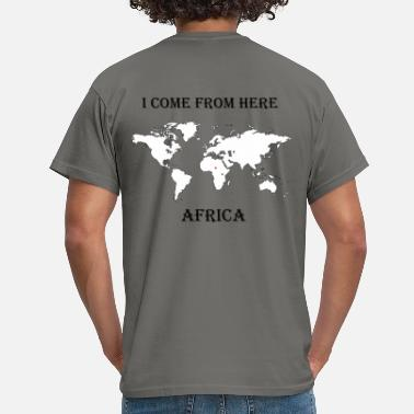 Africa africa-blanc - T-shirt Homme