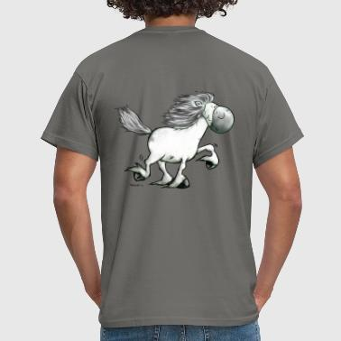 """Icelandic Power"" -Icelandic Horse - Men's T-Shirt"