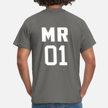 Mrs Mr 01 - Mannen T-shirt