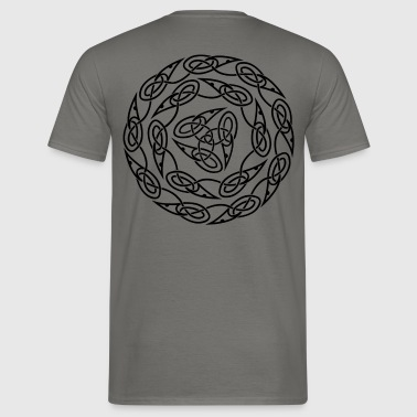 Triquetra circles - Men's T-Shirt