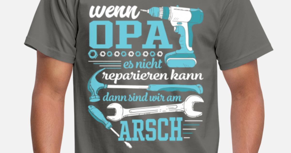 Wenn Opa es nicht reparieren kann Männer T-Shirt