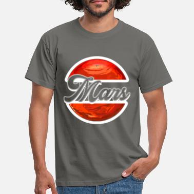 Red Sox Mars Red - T-skjorte for menn