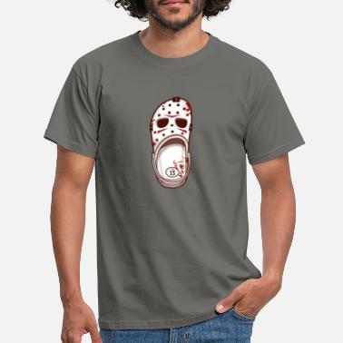 Halloween Killer Shoes - Männer T-Shirt