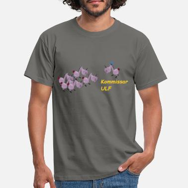 Commissaris commissaris - Mannen T-shirt