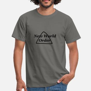 New World Order New World Order - New World Order -NWO - Men's T-Shirt