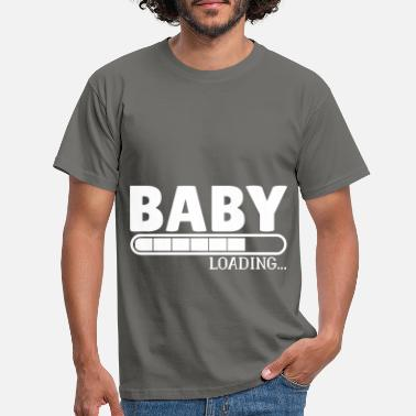 Pregnant Baby Loading pregnant pregnant - Men's T-Shirt