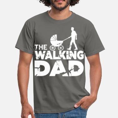 Futuro The Walking Dad Shirt Expectant Dad Gift - Maglietta uomo