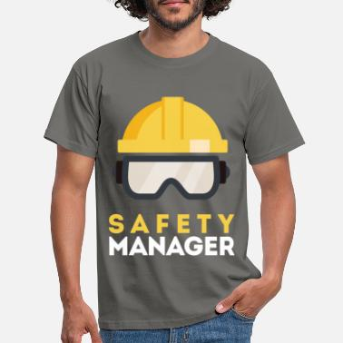 Safety Safety Manager - Safety Manager - Men's T-Shirt