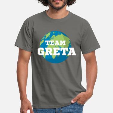 Greta Team Greta knows earth - Men's T-Shirt