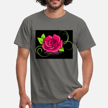 rose - Mannen T-shirt