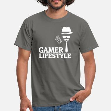 Gamer lifestyle - Men's T-Shirt