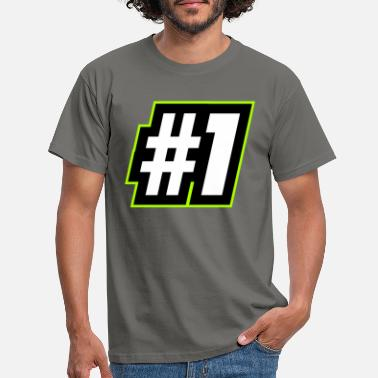 Olympus Number 1 Number 1 First First Win - Men's T-Shirt