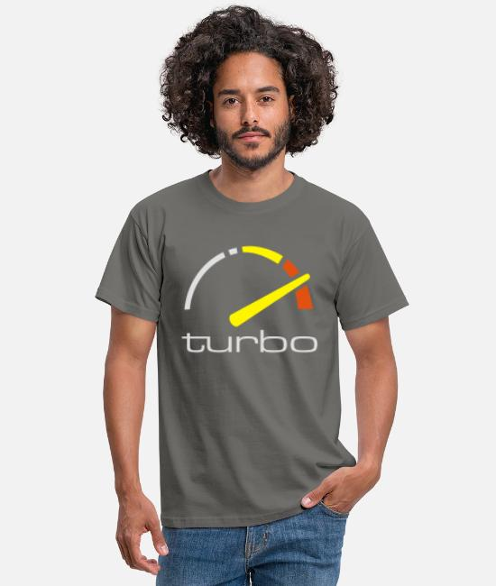 Metertje T-shirts - Saab 900 turbo - Mannen T-shirt grafietgrijs