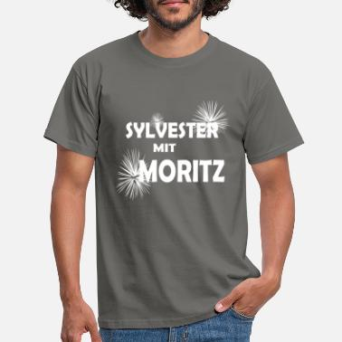 Turn Of The Year Sylvester Moritz fireworks turn of the year - Men's T-Shirt