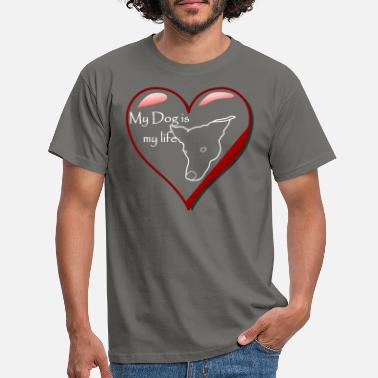 Aaro Heart with Aaro - Men's T-Shirt