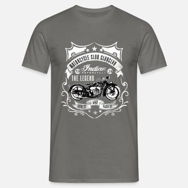 Vivre pour rouler Cadeau vintage r/étro moto motard T-Shirt