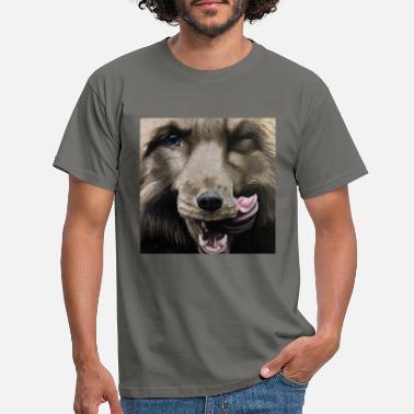 Fox painting - Men's T-Shirt
