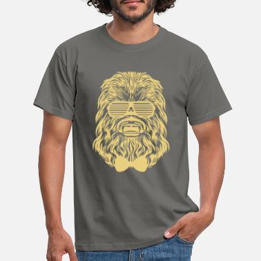 Hipster Chewbacca hipster - Men's T-Shirt