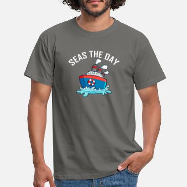 Seize The Day Seas The Day - T-shirt herr