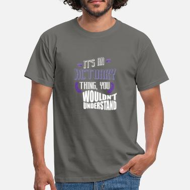 Actuary It's an actuar thing, you would not understand - Men's T-Shirt