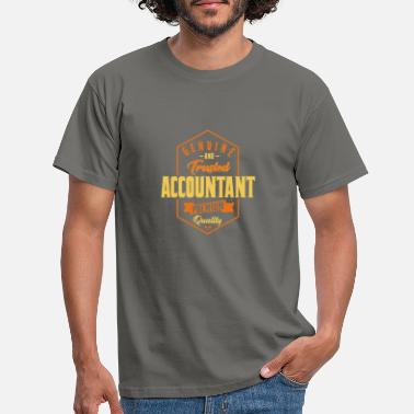 Accountant Genuine and trusted accountant - accountant design - Men's T-Shirt