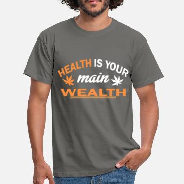 Health Care Health health care rich medicine gift - Men's T-Shirt