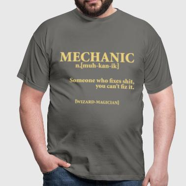 MECHANIC NOUN - Men's T-Shirt