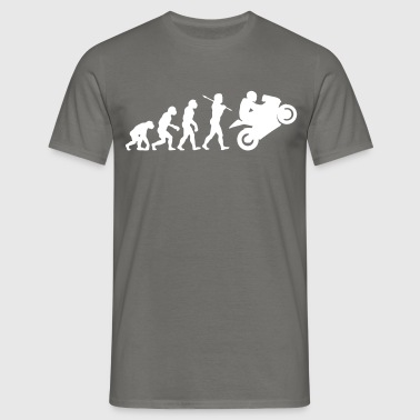 motorcycle evolution - Men's T-Shirt