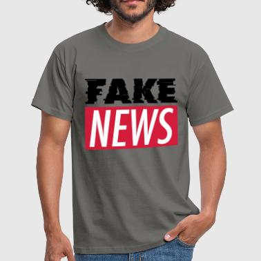 FAKE NEWS - Männer T-Shirt