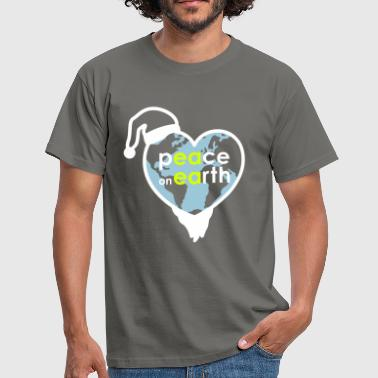 MR Peace on Earth - Mannen T-shirt