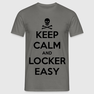 Locker - Easy - Männer T-Shirt