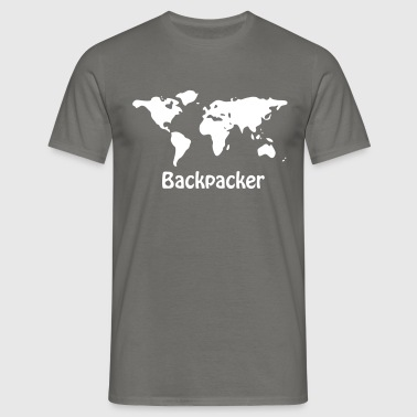 Backpacker - Männer T-Shirt
