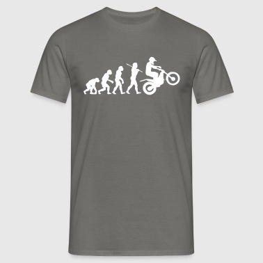 trials bike evolution 01 - Men's T-Shirt