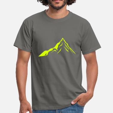 Alpen Berge Mountain, Hiking Nature, Berge, Alpen - Männer T-Shirt