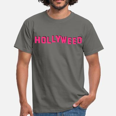 Zachary Cannabis Hollywood = Hollyweed - T-shirt Homme