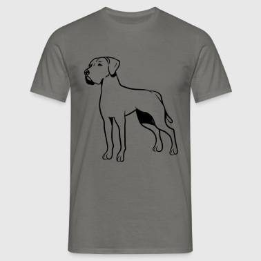Dog Duitse bulldog - Mannen T-shirt
