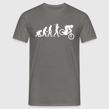 NEW MTB DOWNHILL MOUNTAIN BIKE EVOLUTION - Men's T-Shirt